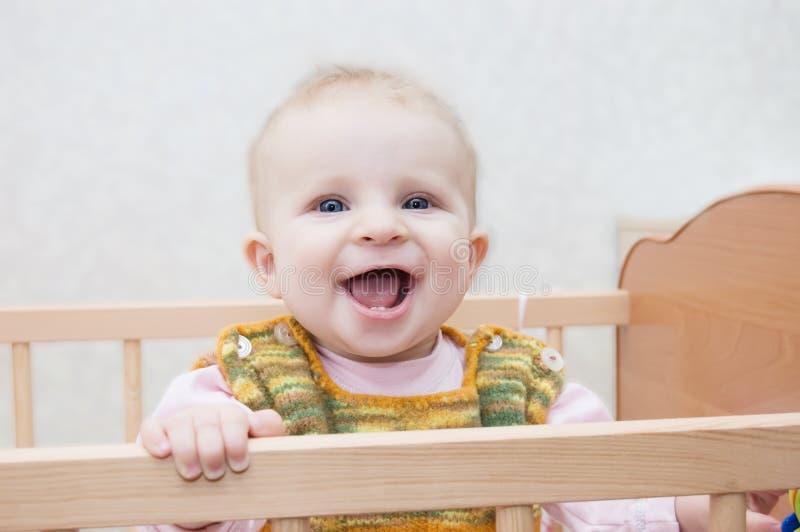 Lächelndes Schätzchen stockfotografie