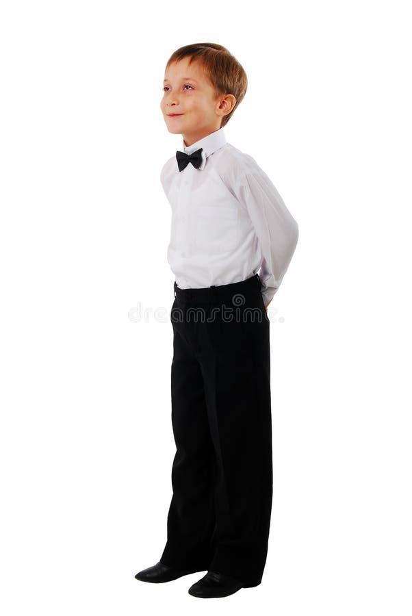 Lächelndes Schule-Kind. lizenzfreie stockbilder