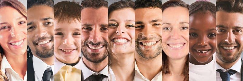 Lächelnfahne lizenzfreies stockfoto