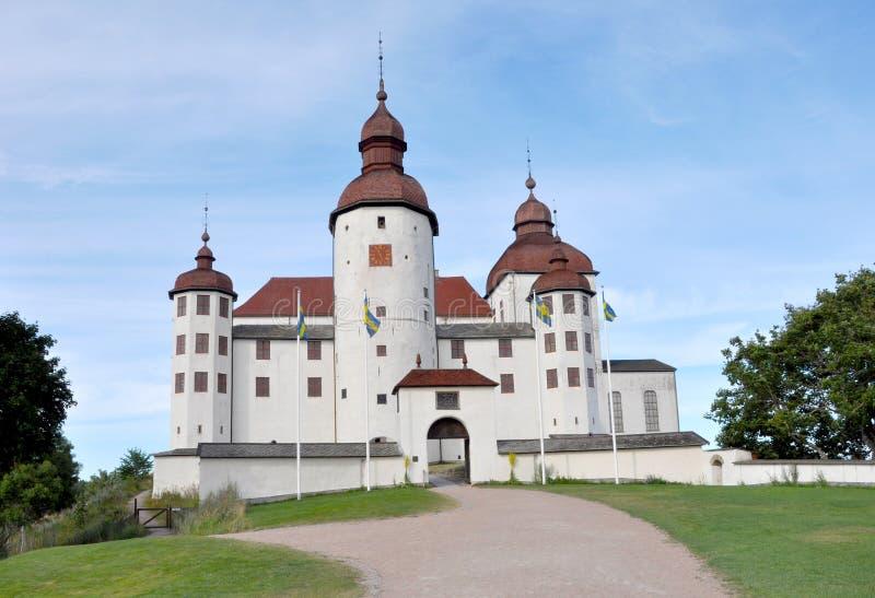 Läckö城堡 免版税库存图片