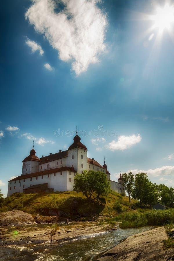 Läckö-Schloss in Schweden Lidköping stockbilder