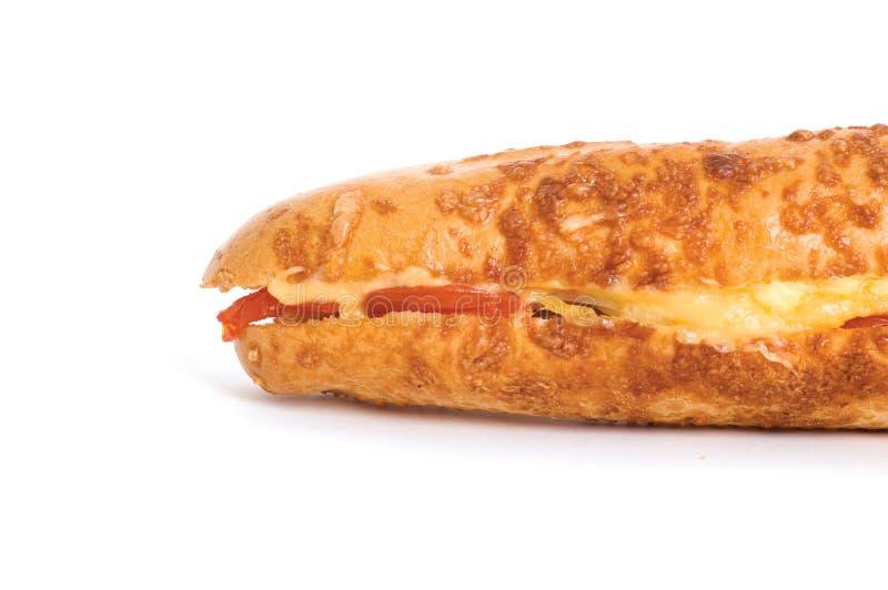 läcker lång smörgås arkivbild
