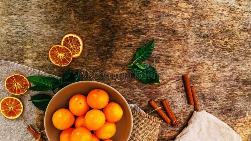 Läcker mandarin royaltyfri bild