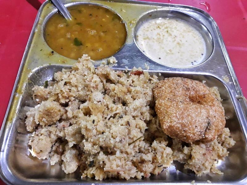 Läcker mat av den Indien ingrediensen av vete arkivbild