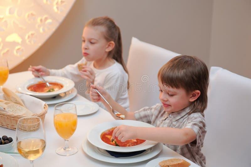 läcker matställerestaurang royaltyfri foto