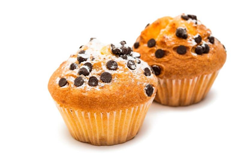 läcker muffin för choklad royaltyfri bild