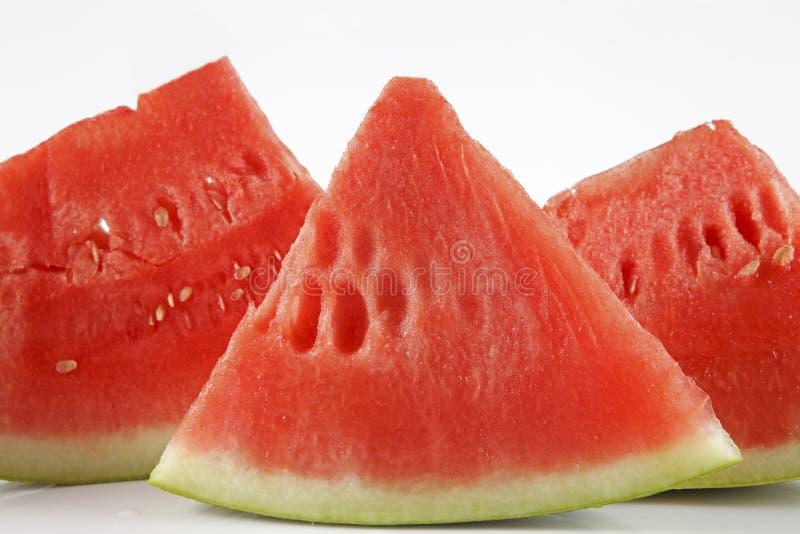 läcker seedless vattenmelon royaltyfri foto