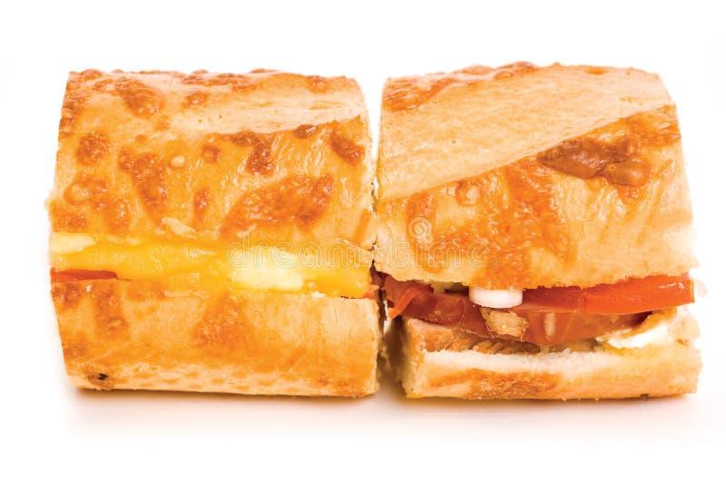 läcker smörgås arkivbilder