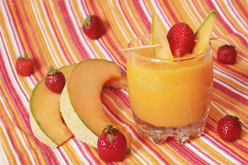 läcker smoothie royaltyfri bild
