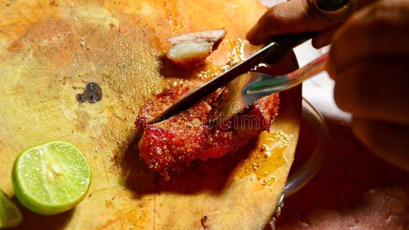läcker stek för nötkött arkivbilder