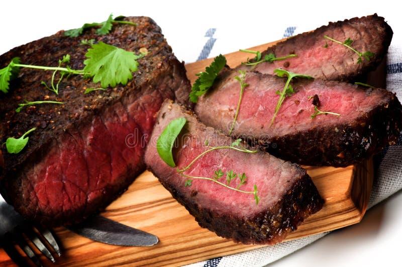 läcker stek för nötkött fotografering för bildbyråer