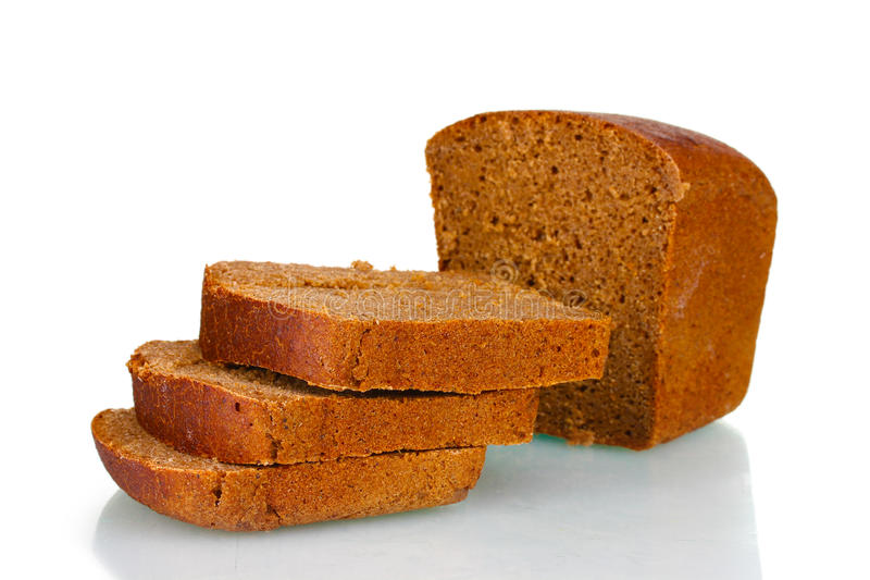 Läckert skivat bröd för rye för ââ¬â ¹Ã¢â¬â ¹ fotografering för bildbyråer