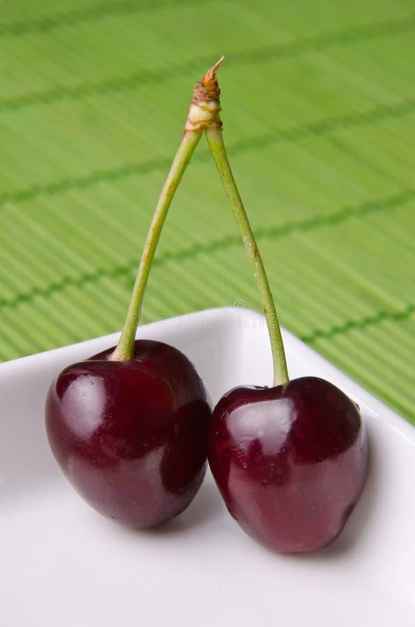 läckra Cherry royaltyfria bilder