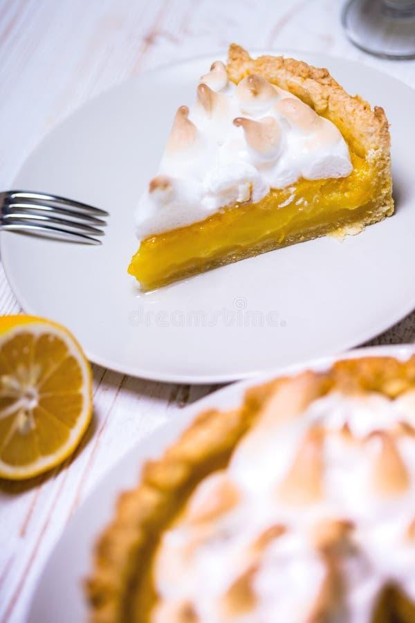 Läckra citrontarts royaltyfri fotografi