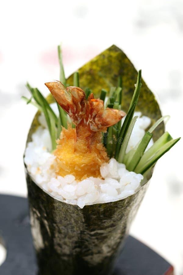 läckra förberedda sushi royaltyfria bilder
