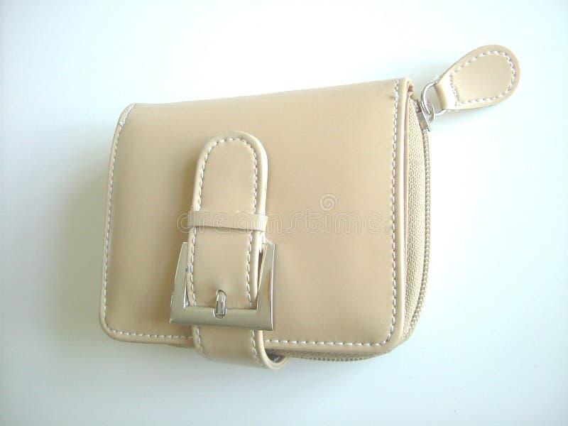 läderhandväska royaltyfri bild