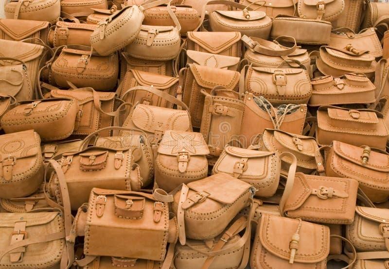 lädermexico handväska royaltyfri bild