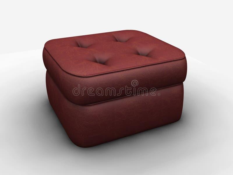 Download Lädermonosofa fotografering för bildbyråer. Bild av stol - 989493
