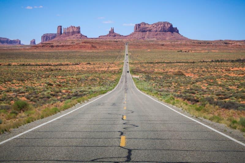 Läge konstnär Point Monument Valley - Utah USA fotografering för bildbyråer