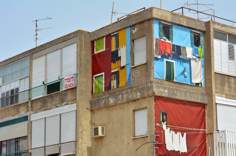Lägenhet för hyra i Zikhron Yaakov, Israel arkivfoton