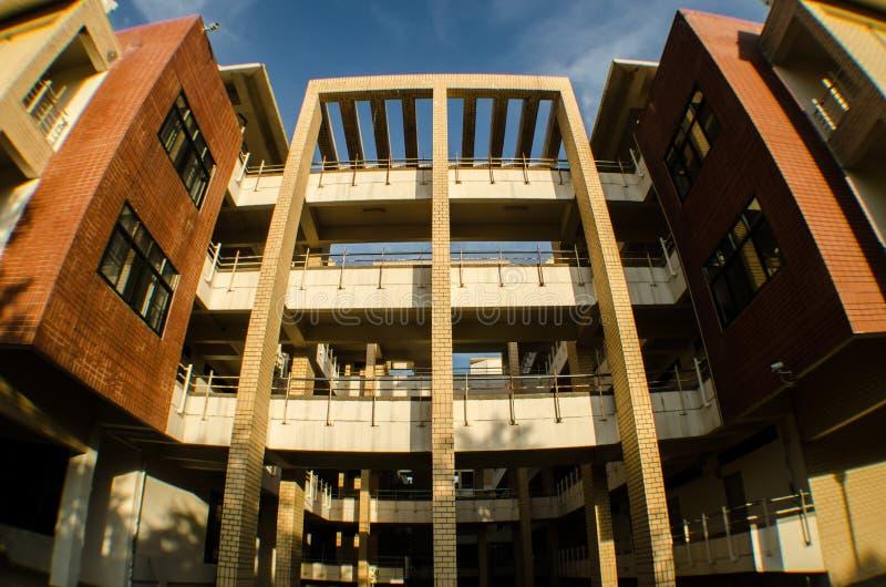 Lägenhet i universitet arkivfoto