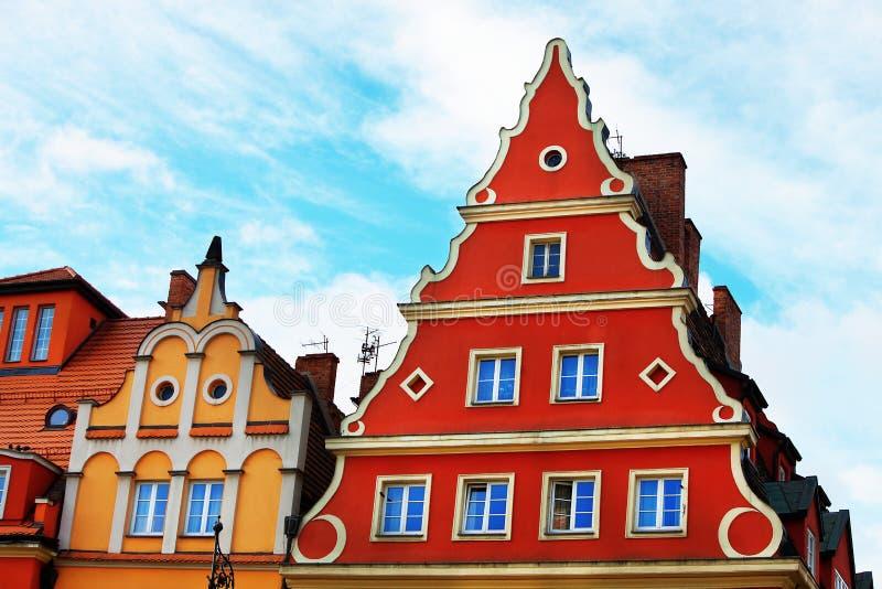 Lägenhet i Wroclaw, Polen royaltyfria foton