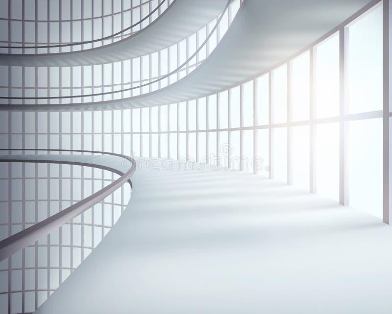 lägenheter som bygger arbete för ställe för affärskontor också vektor för coreldrawillustration stock illustrationer