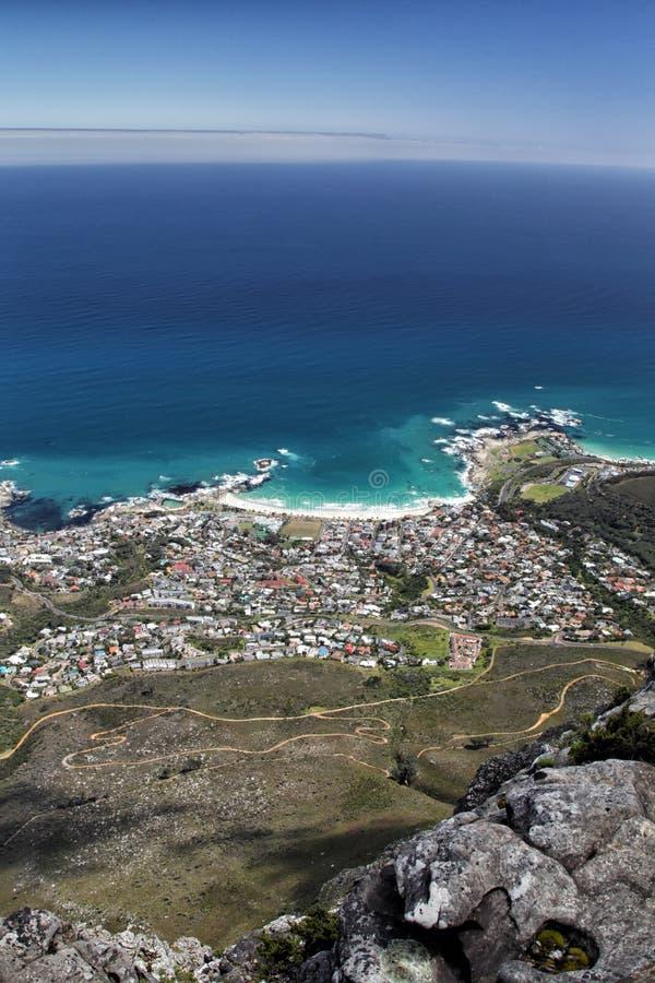 Läger fjärd, Cape Town arkivfoton