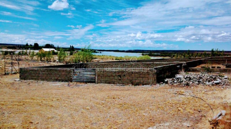 Läger Santa Cruz royaltyfria foton