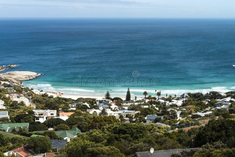 Lägerfjärd (Cape Town, Sydafrika) royaltyfria bilder
