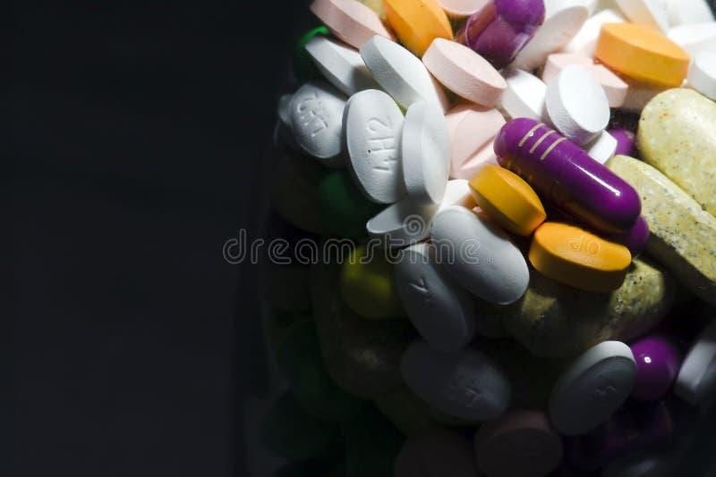 läkarbehandlingpills royaltyfri bild