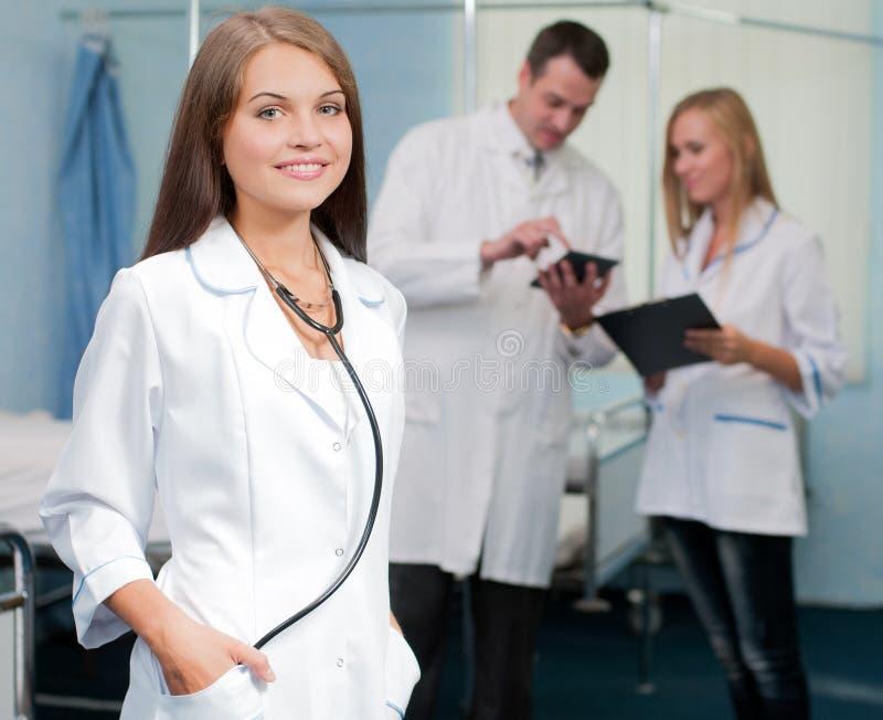 Läkarundersökning royaltyfri foto