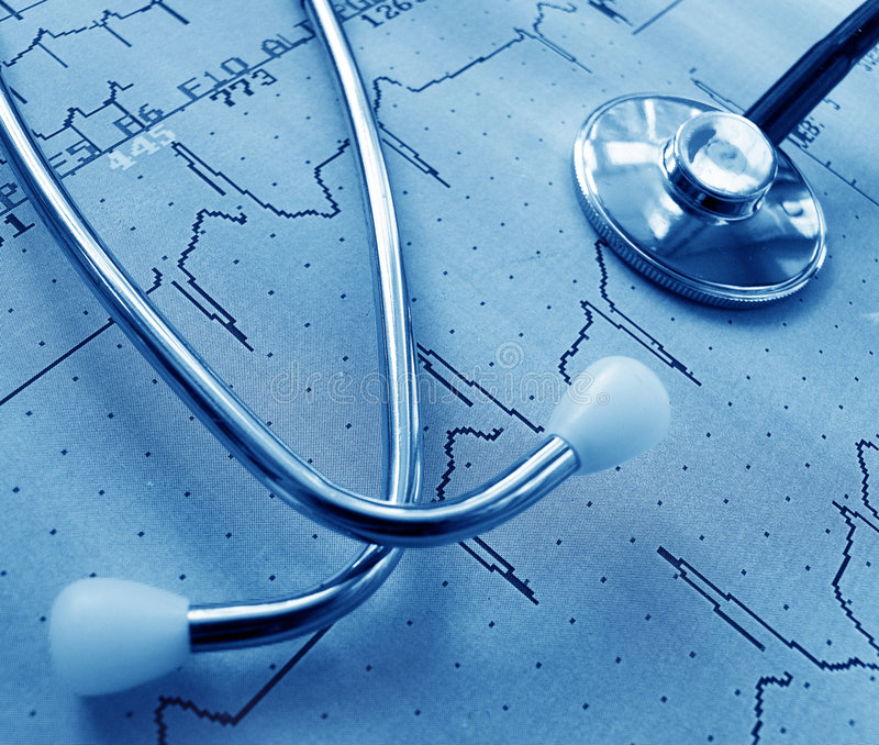 läkarundersökning royaltyfri bild