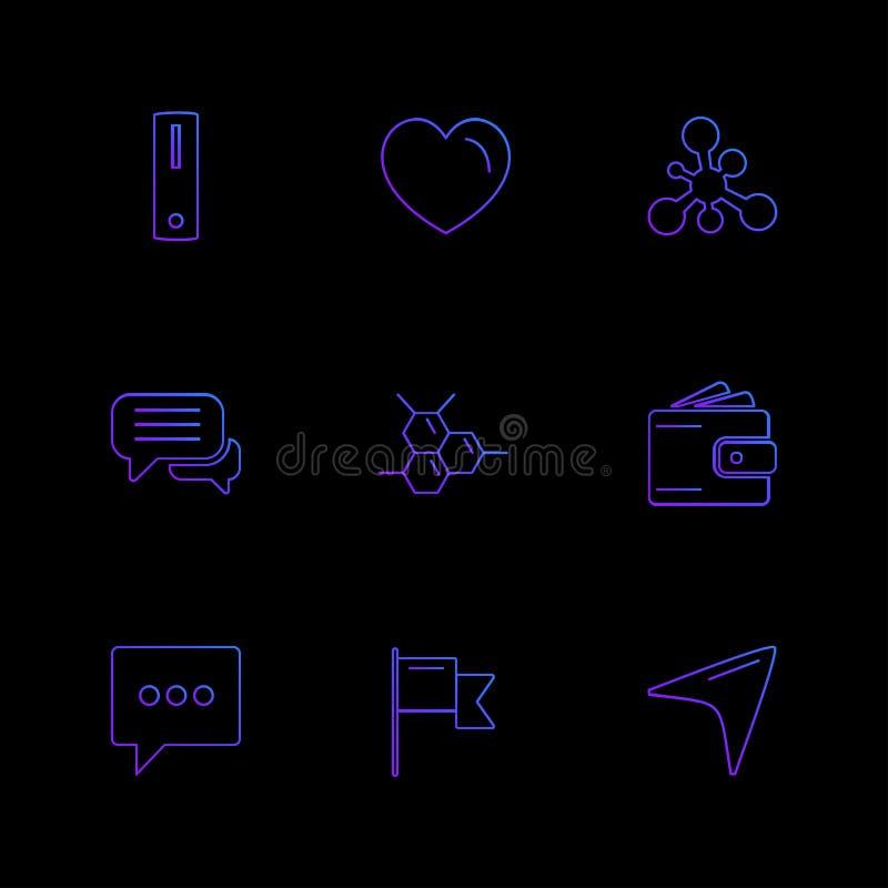 läkarundersökningen hälsa, navigering, konversation, eps-symboler ställde in vec vektor illustrationer