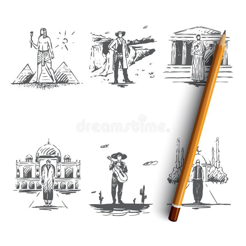 L vektor illustrationer