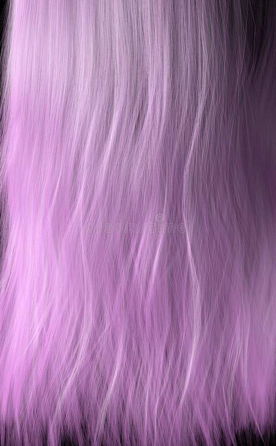 Länge des Haares vektor abbildung
