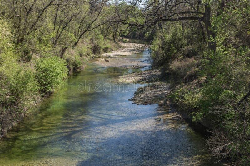 Längs The Creek fotografering för bildbyråer