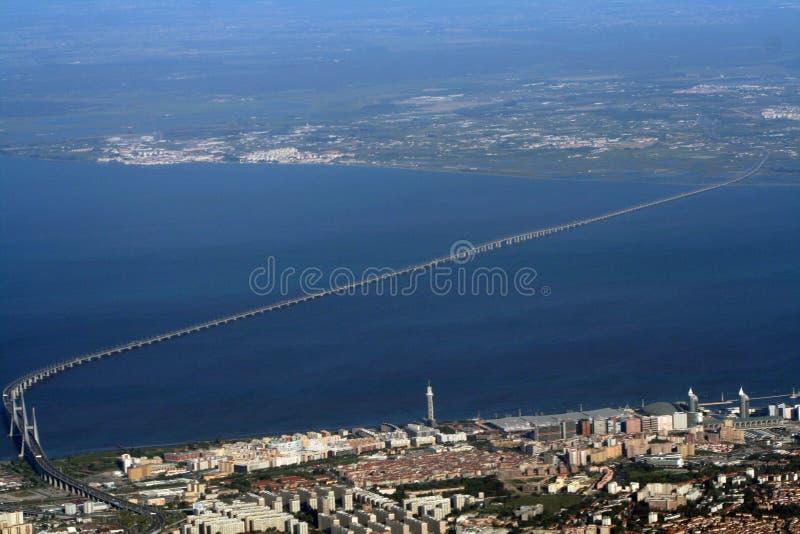 längst värld för bro royaltyfria foton