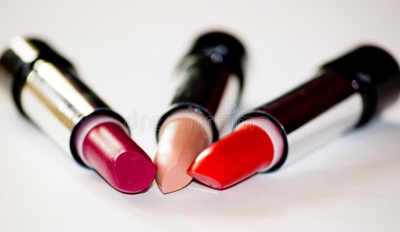 Download Läppstift arkivfoto. Bild av finger, makeup, kanter, eyeliner - 279004