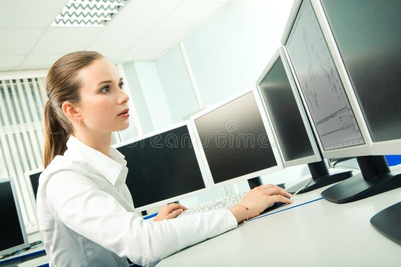 lära för dator royaltyfri bild