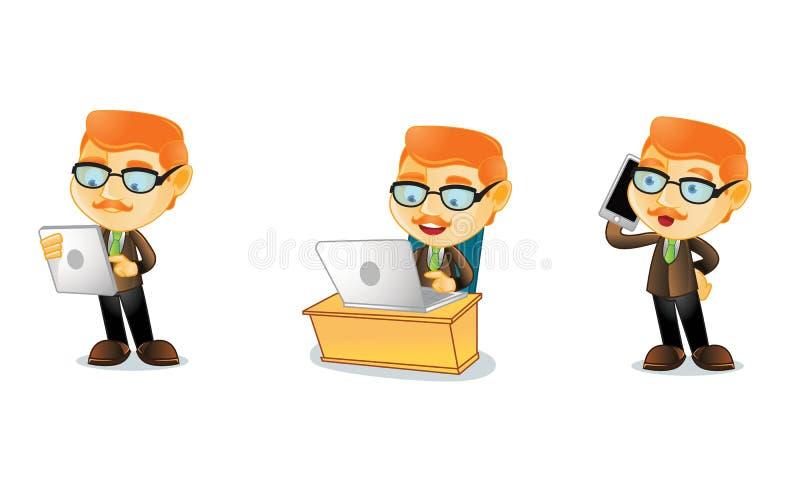 Lärare 3 royaltyfri illustrationer