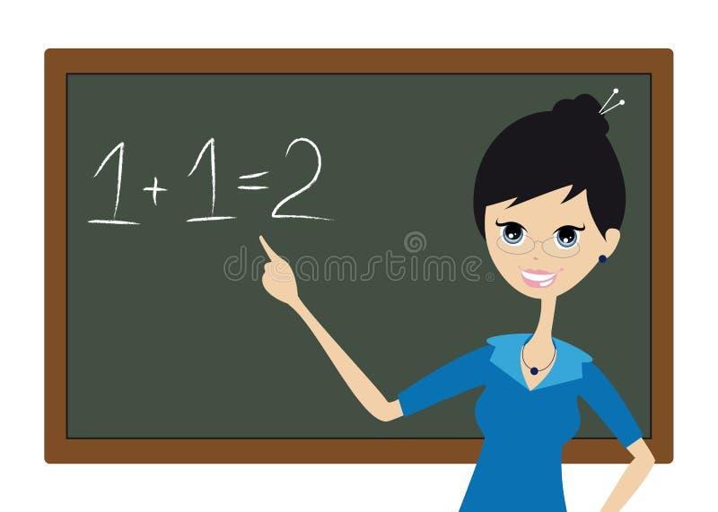 lärare royaltyfri illustrationer