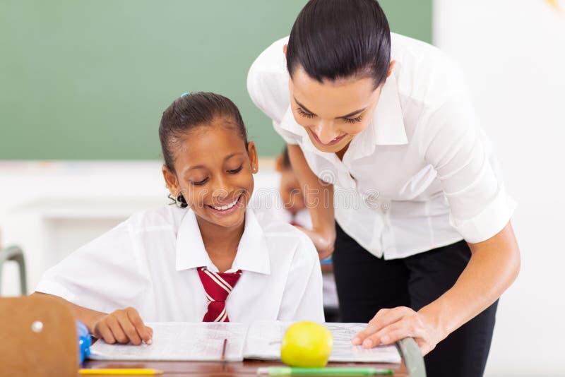 Lärareportiondeltagare royaltyfri fotografi