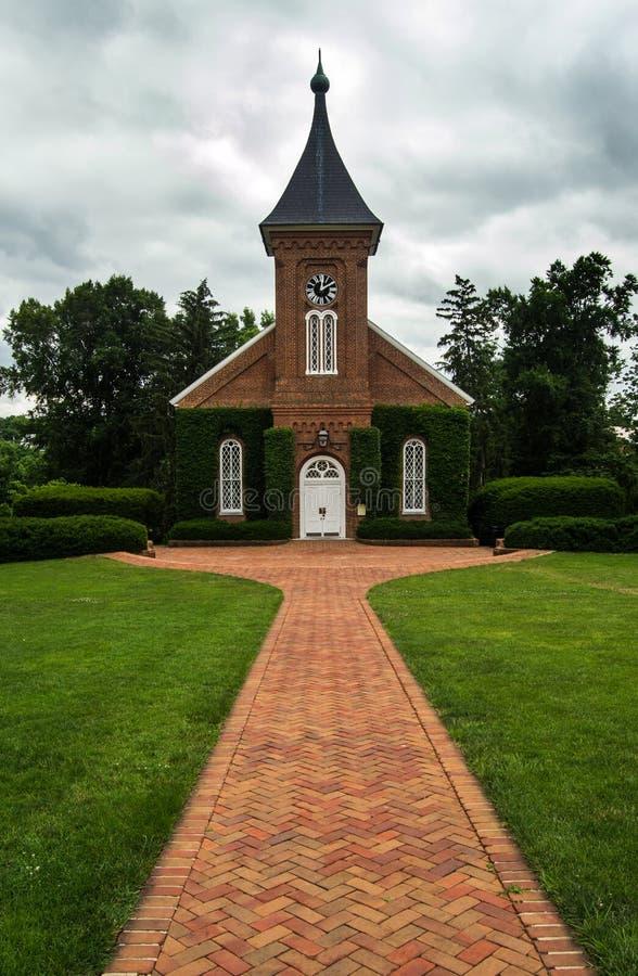 Läs kapell och museum fotografering för bildbyråer