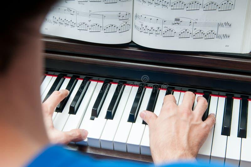 Läs- musikark royaltyfria bilder
