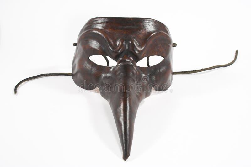 läskig maskering royaltyfri fotografi