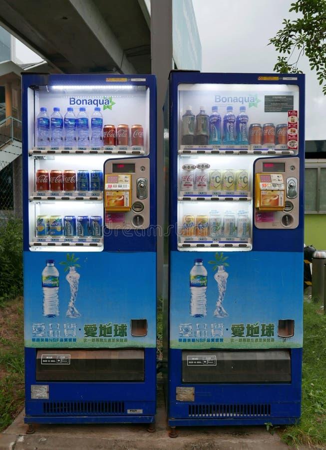 Läskvaruautomat royaltyfri bild