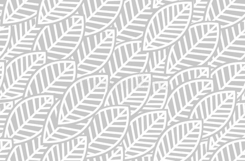 Lässt Hintergrundmuster - Vektorillustration vektor abbildung