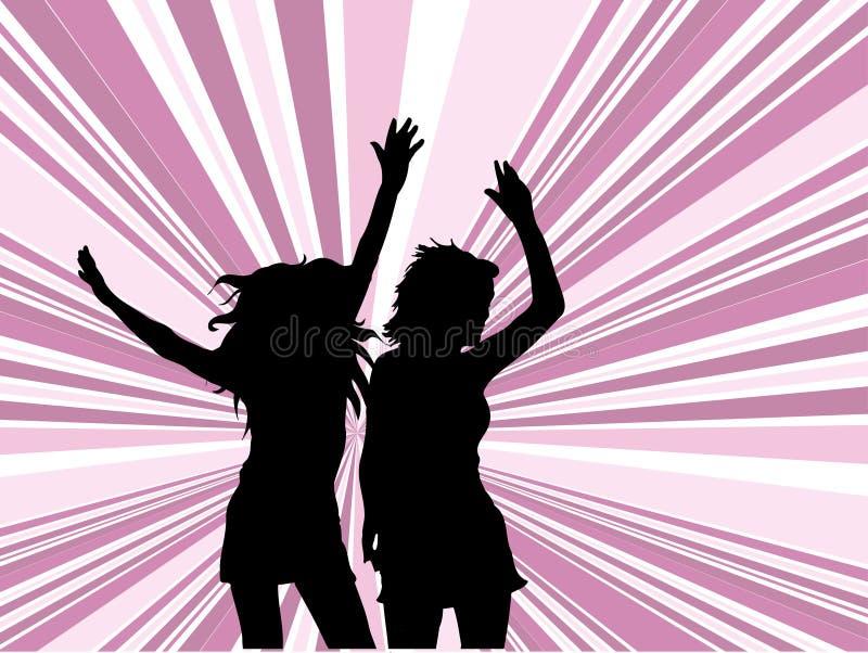 Lässt Tanz! lizenzfreie abbildung