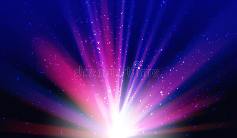 Lätt all redigerbart för ljus neonpartibakgrund stock illustrationer